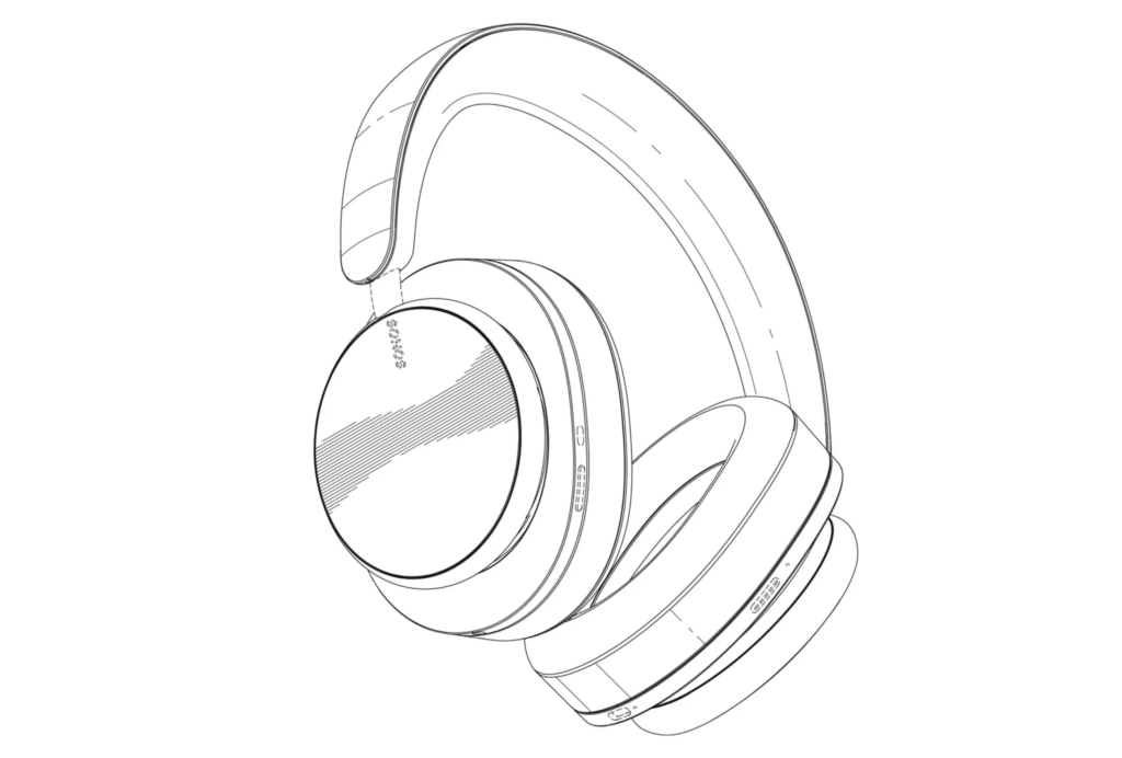 Sonos-headset-tegning