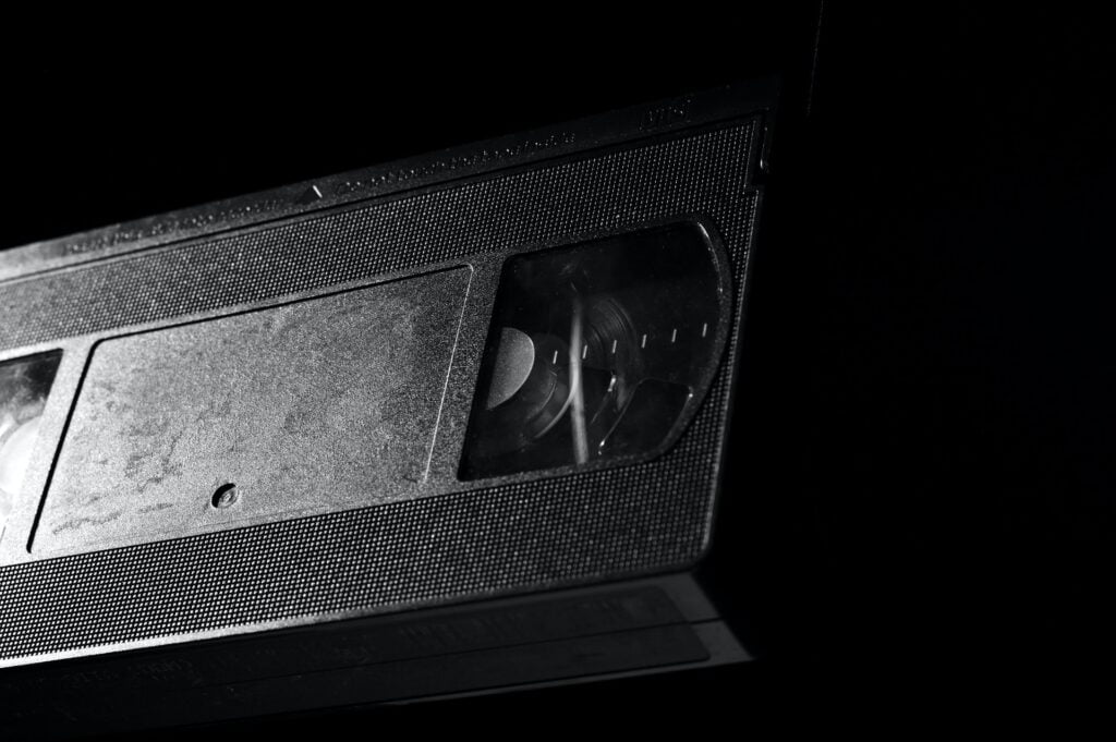 VHS bånd medier