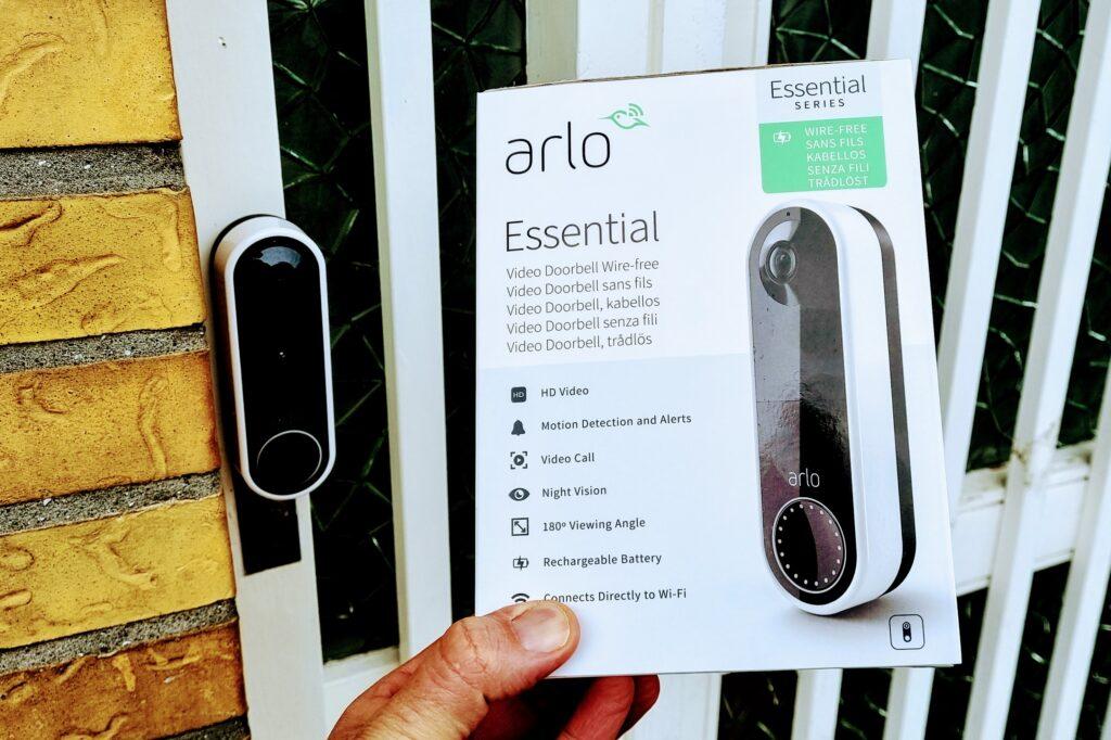 Arlo Doorbell test