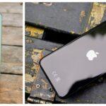 iPhoe 12 Mini og iPhone SE