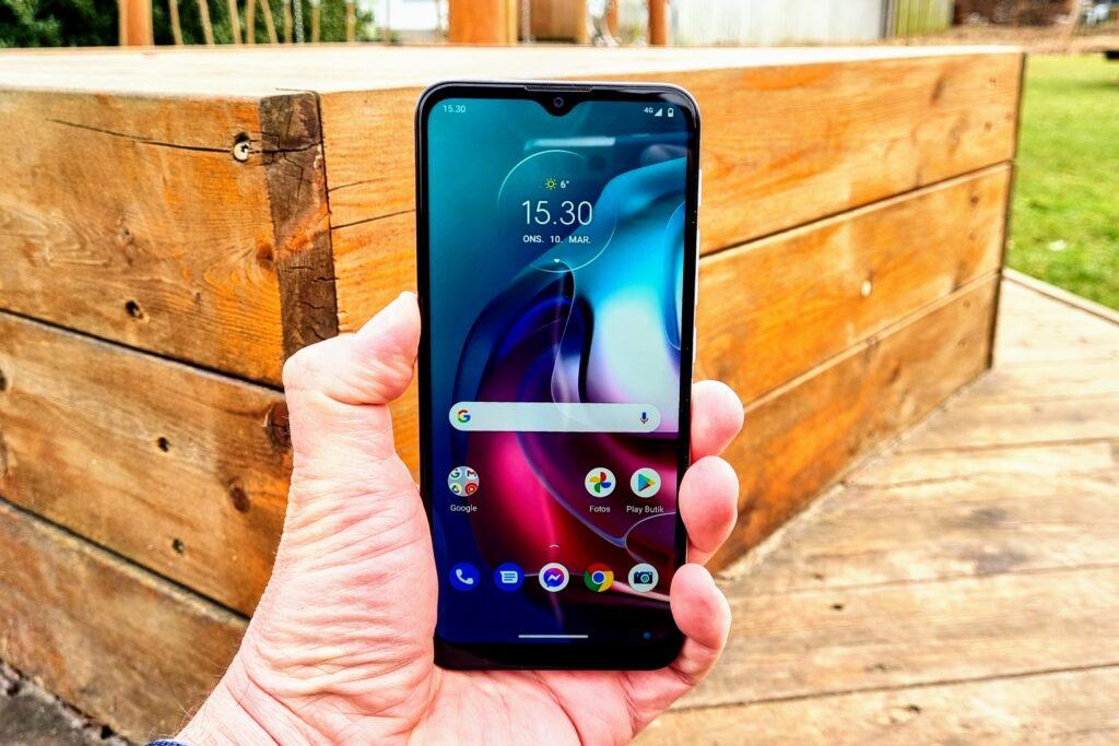 Motorola G30 test