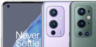 OnePlus 9 og OnePlus 9 Pro er lækket på billeder, som ligner officielle pressefotos (Kilde: WinFuture)