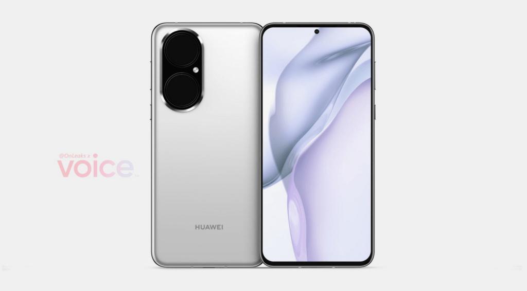 Huawei P50 er lækket (Kilde: OnLeaks / Voice)