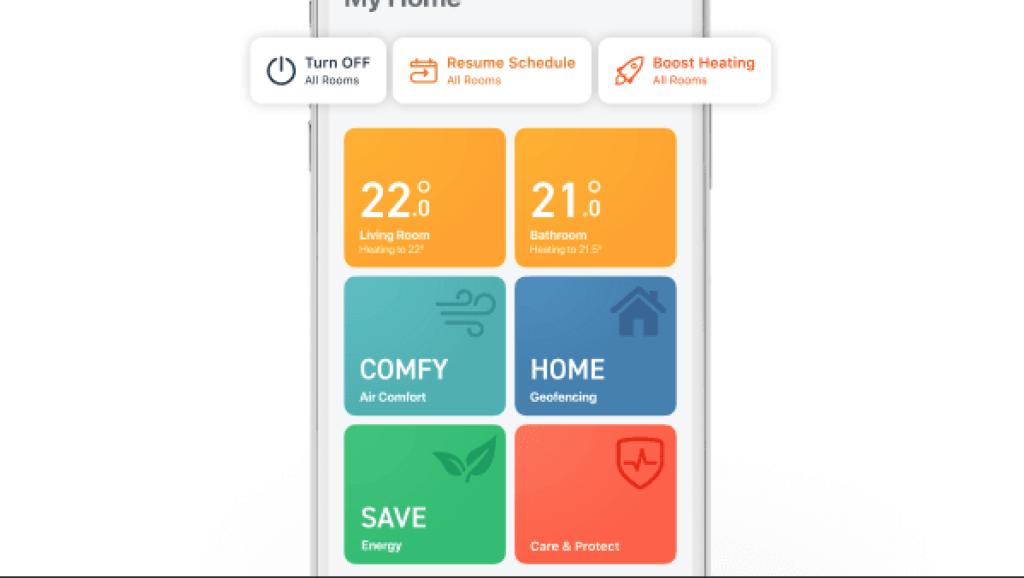 Tado er klar med flere features i deres app til intelligent varmestyring (Foto: Tado)