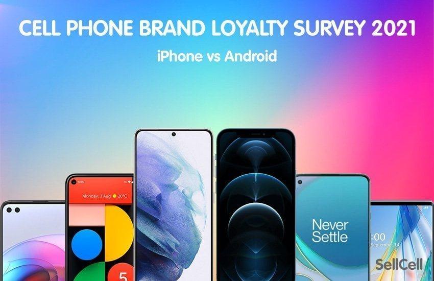 Loyalitets undersøgelse af iPhone vs. Samsung