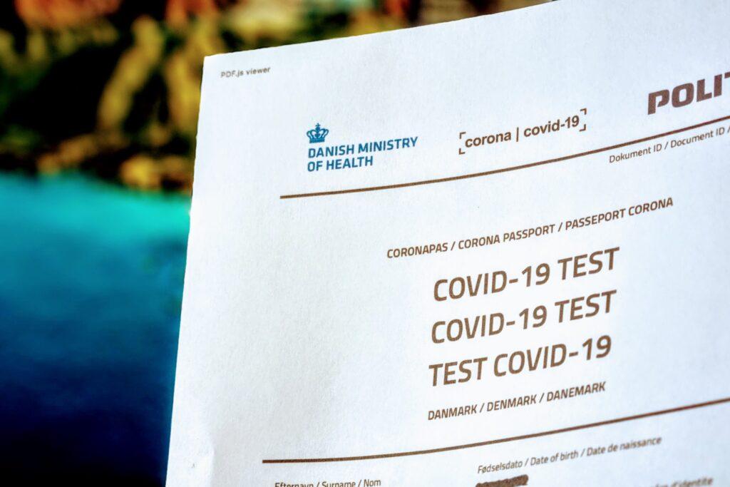 Covid-19 coronapas