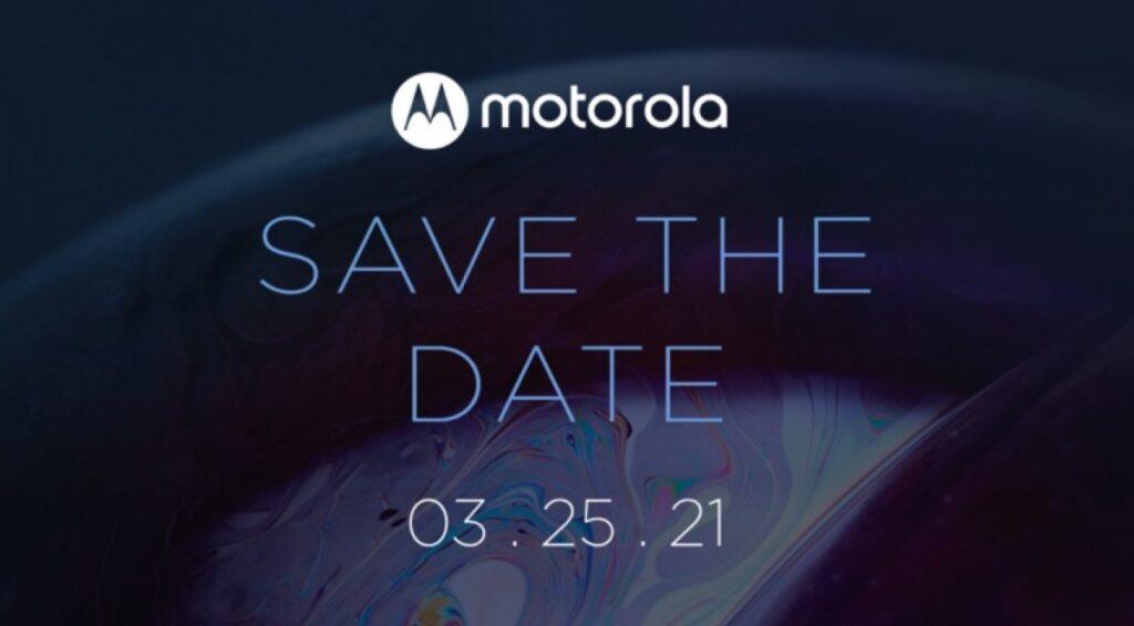Motorola har sendt invitationerne ud til nyt event, der finder sted den 25. marts 2021.