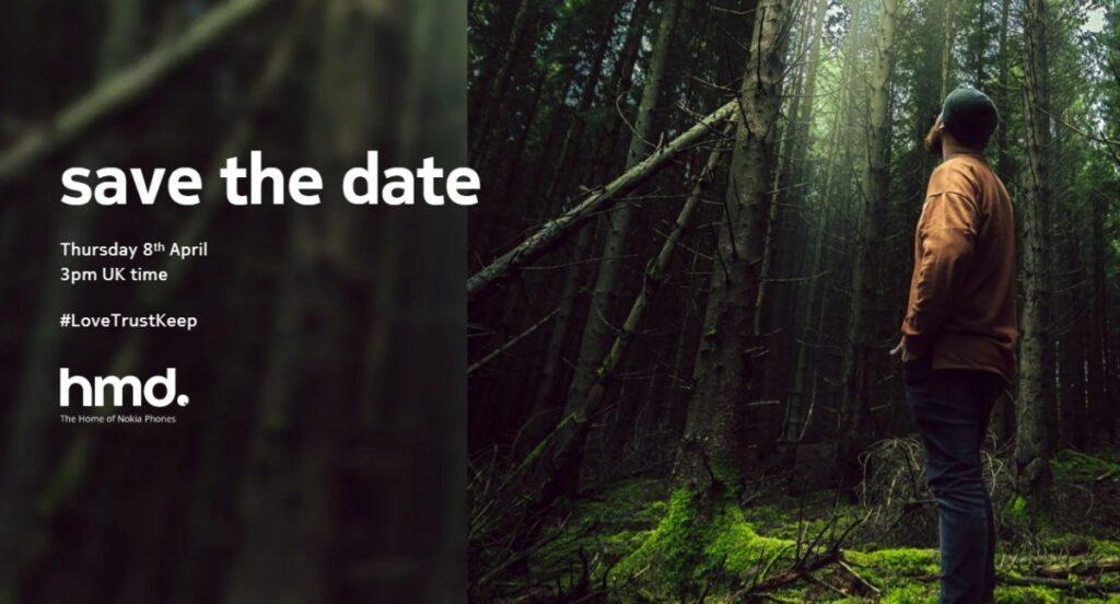 HMD Global er klar med nye telefoner torsdag den 8. april 2021 - invitationerne er sendt ud