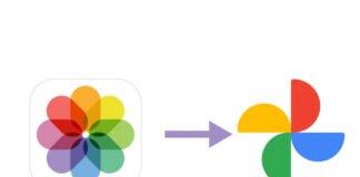 iCloud til Google Fotos