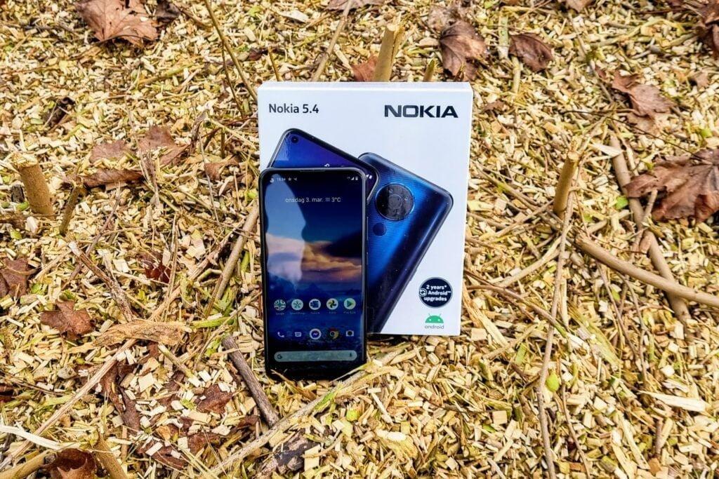 Nokia 5.4 test