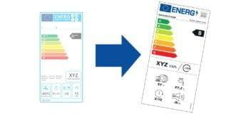 Der er netop trådt en ny energimærkning i kraft pr. 1. marts 2021 på fladskærme og andre elektroniske skærme, køleskabe, frysere, vaske- og opvaskemaskiner, som går fra A-G (Foto: Energistyrelsen)