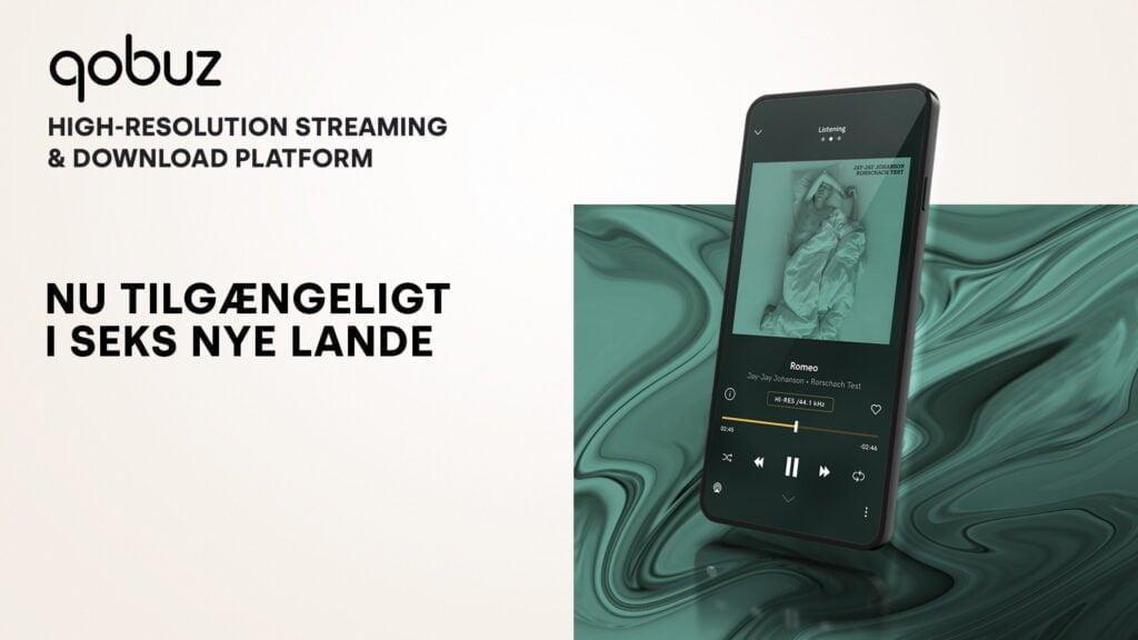 Qobuz er klar til danskerne med streaming og download i høj kvalitet (Foto: Qobuz)