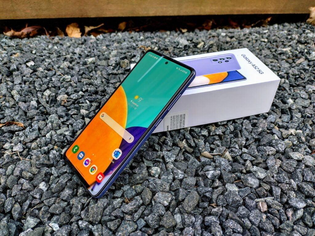Samsung Galaxy A52 5G test og anmeldelse