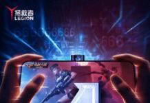 Teaser for den kommende Lenono Legion 2 Pro (Kilde: GSMArena.com)