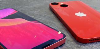Konceptbilleder af iPhone 13 Mini, hvor det ses, at kameraets linser nu er placeret diagonalt (Kilde: Svetapple.sk)