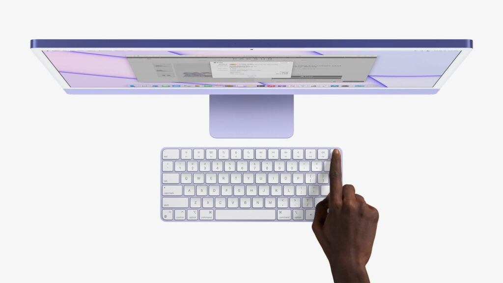 iMac M1 med Touch ID