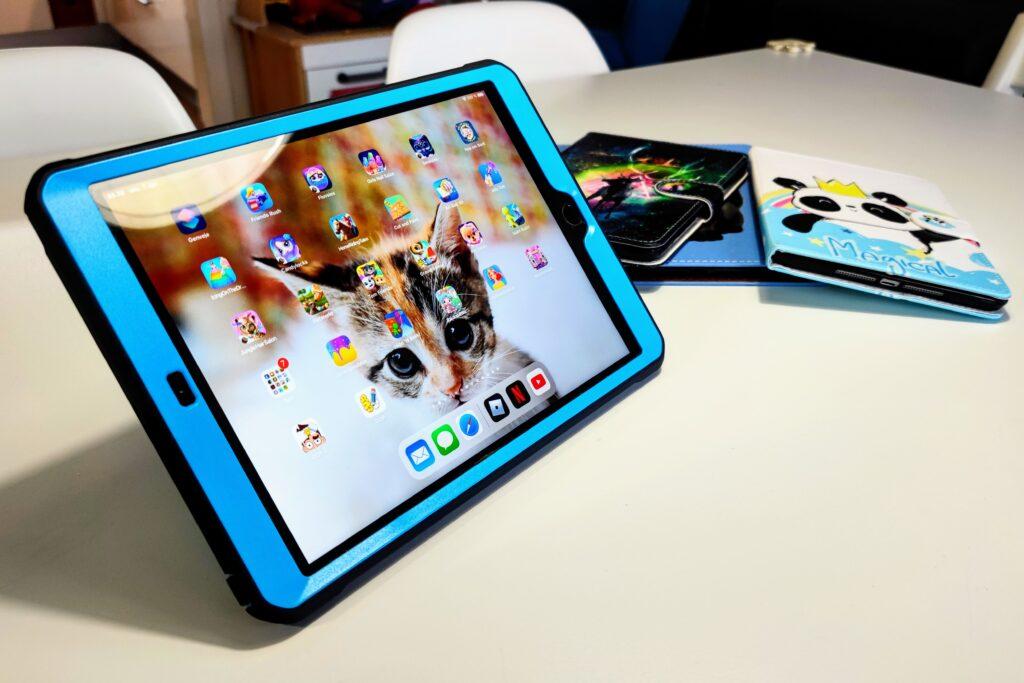 iPad håndværkercover med beskyttelse