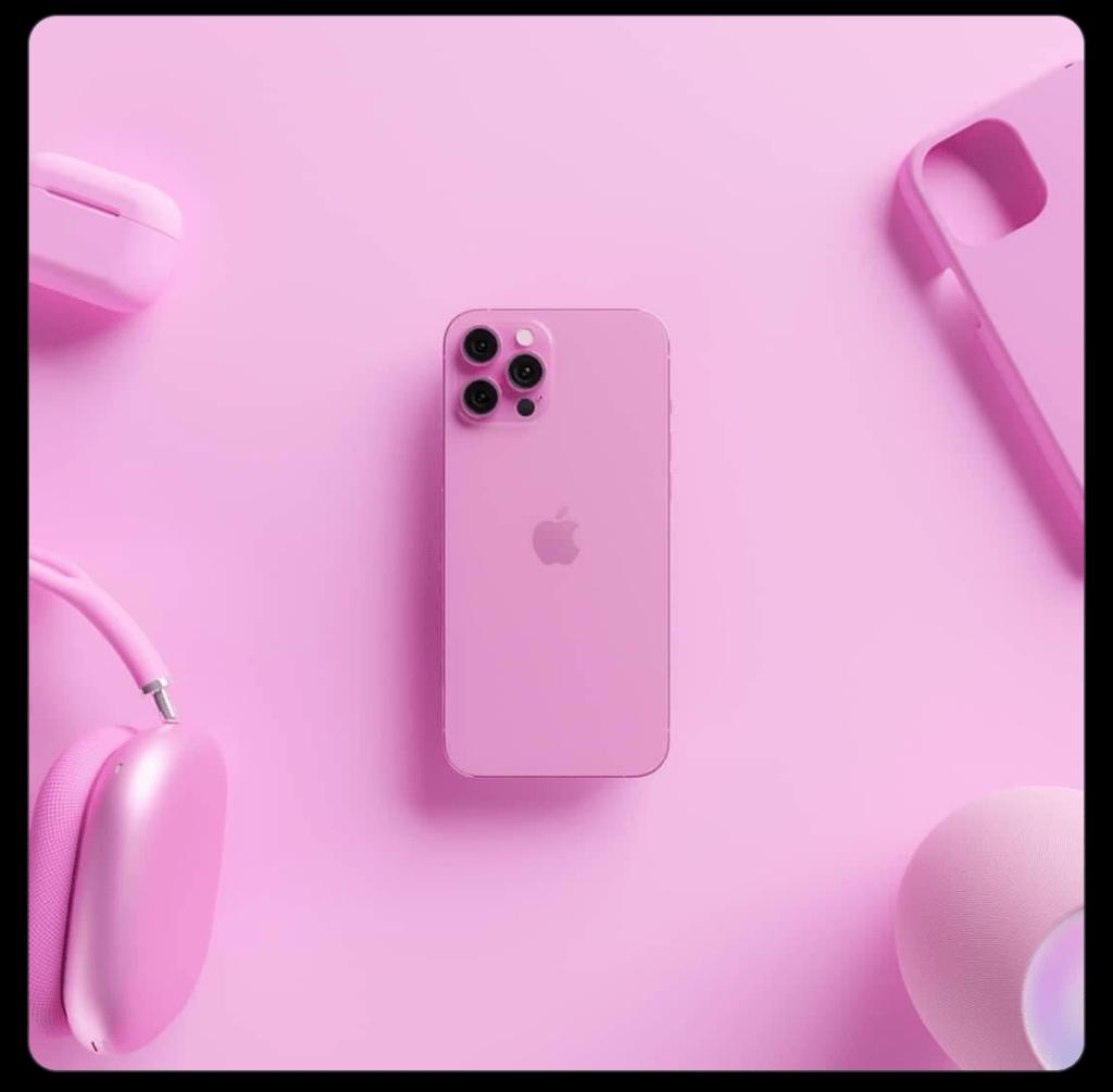 Peng Phones skriver iPhone 13 Pro og iPhone 13 Pro Max kommer i en pink-variant (Kilde: Twitter Peng Phones)