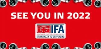 IFA-messen 2021 aflyses og i stedet håber arrangørerne på, at se virksomheder, medier og besøgende i 2022.