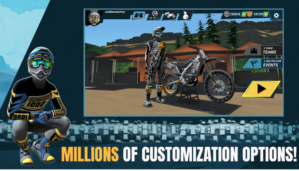 Mad Skills Motocross 3 er klar til iOS og Android