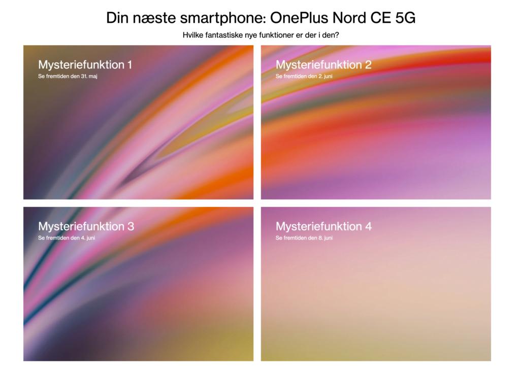 OnePlus teaser for hvornår de vil afsløre funktioner for den kommende OnePlus Nord CE 5G (Kilde: OnePlus.com)