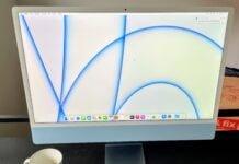 """24"""" iMac med M1-chip"""