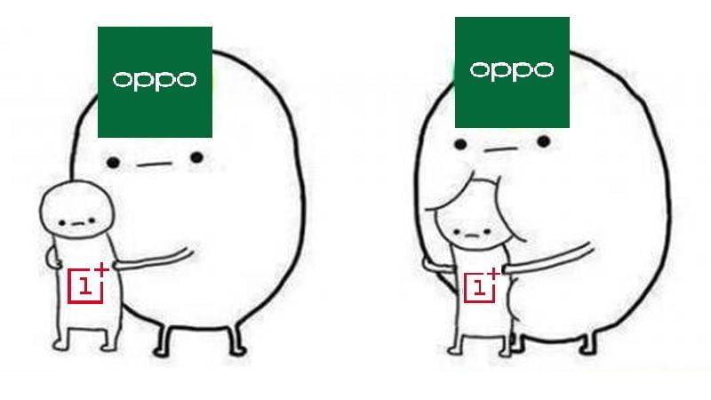 Oppo opsluger OnePlus
