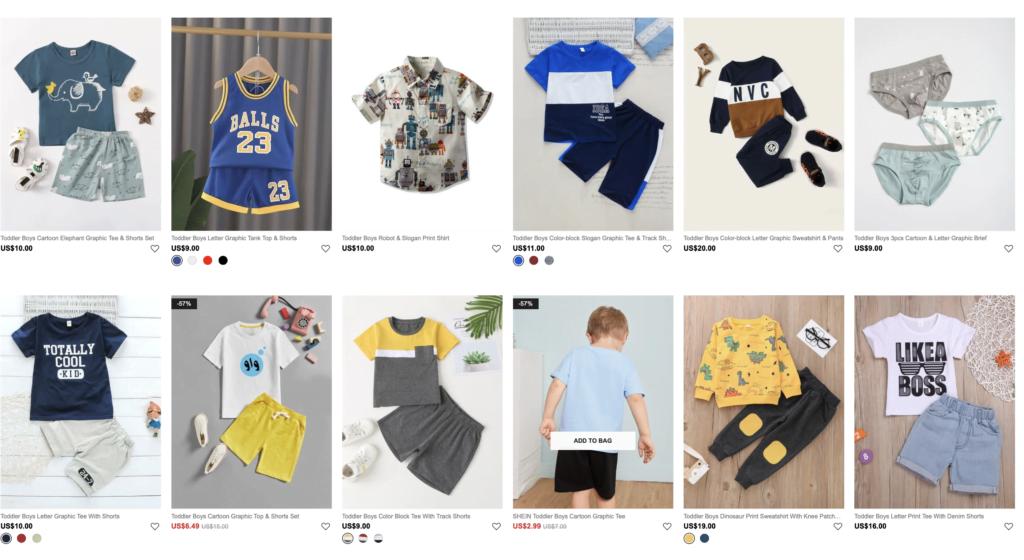 Shein er blevet en af de mest populære shopping-apps på verdensplan og forhandler både tøj til børn og voksne