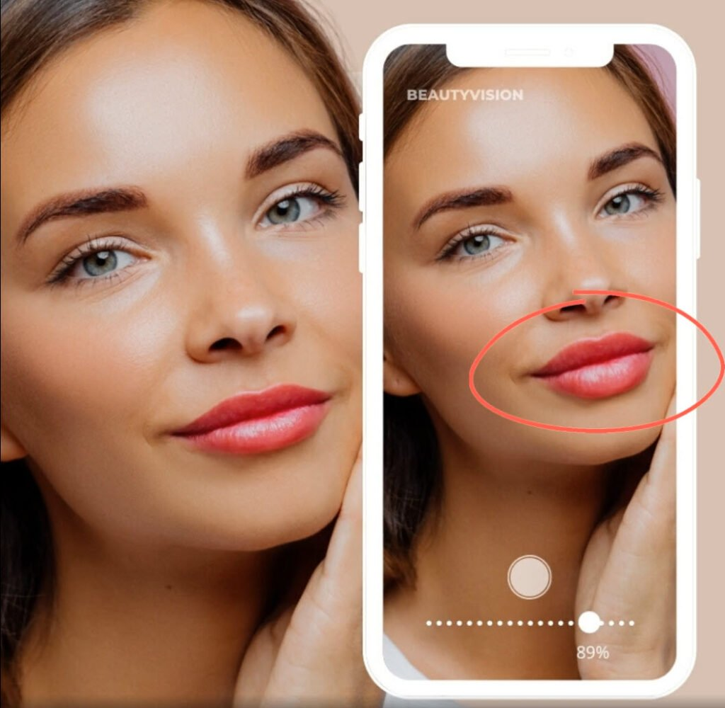 Botox behandling - se resultatet i en app