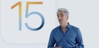 iOS 15 Craig Federighi