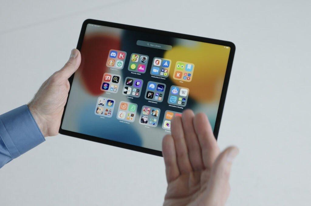App Bibliotek på iPadOS 15