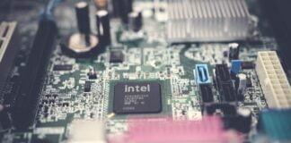 Intel chip cput