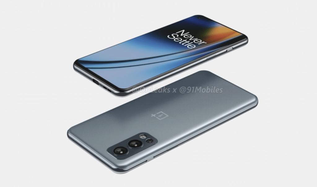 OnePlus Nord 2 5G render