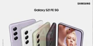 Samsung Galaxy S21 FE 5G er afsløret på det, som ligner et officielt pressefoto (Foto: Androidheadlines)