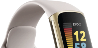 Fitbit Charge 5 (Kilde: SnoopyTech)