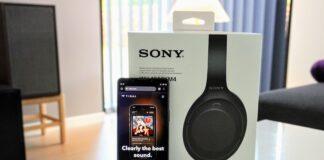 Sony Xperia 1 III med Sony WH-1000XM4