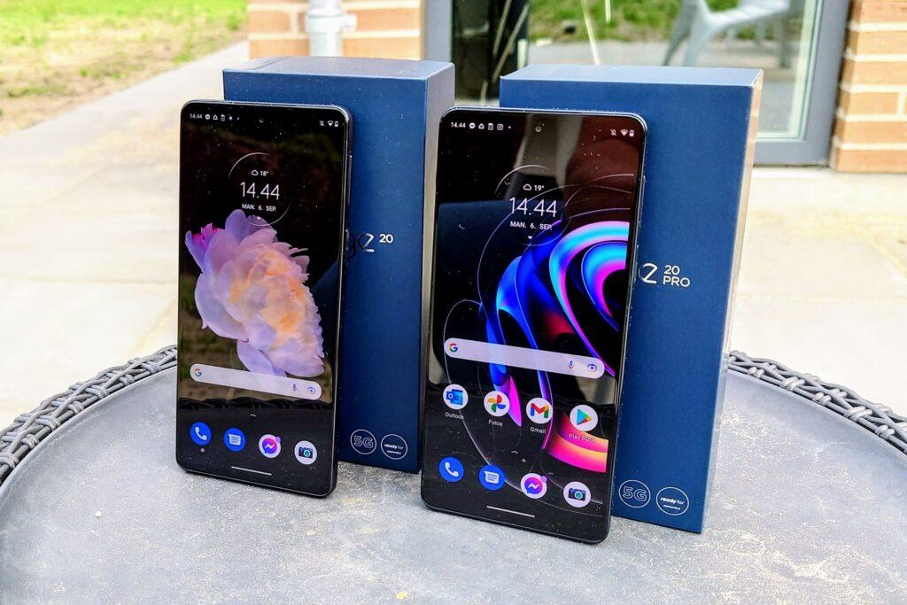 Motorola Edge 20 og Edge 20 Pro