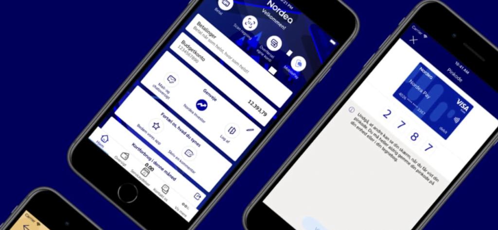 Nordeas nye mobilbankapp opnår større tilfredshed ved brugerne end tidligere version (Foto: Nordea)