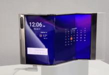 Samsung Flex In & Out er en ny prototype på en foldbar smartphone fra Samsung (Foto: Samsung)