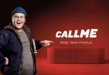 """Lasse Madsen er klar som hovedpersonen i den nye reklamekampagne """"Billigt. Nemt. Punktum."""" fra Call me (Foto: Call me)"""
