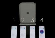 """Motorola """"over-the-air"""" charger (Kilde: Motorola på Weibo)"""