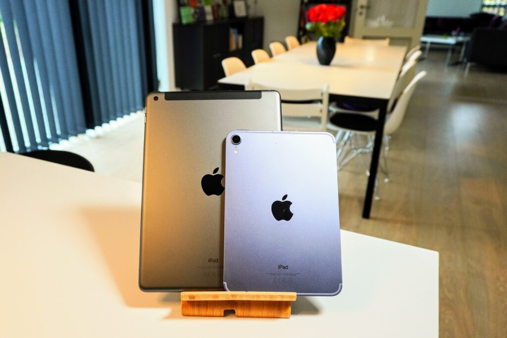 iPad Mini 2021 og iPad 10.2, 9th gen