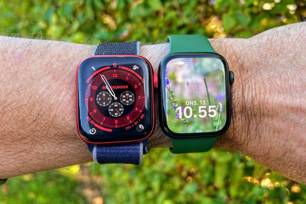Apple Watch Series 6 og Series 7 a