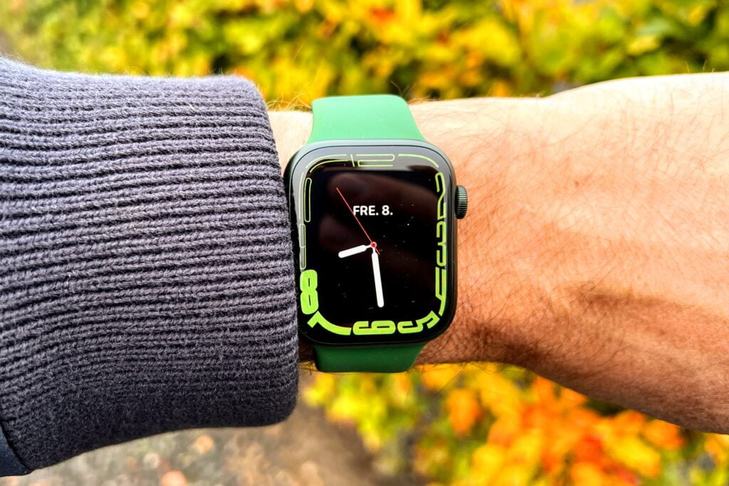 Apple Watch Series 7 test