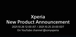 Invitationen til et nyt Xperia-event (Kilde: Sony)