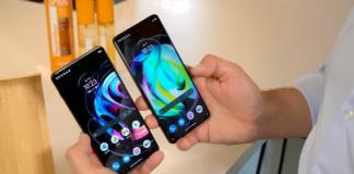 Motorola Edge 20 Pro og Motorola Edge 20