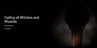 OnePlus teaser for en special edition af deres OnePlus Watch (Foto: Twitter / OnePlus hjemmeside)